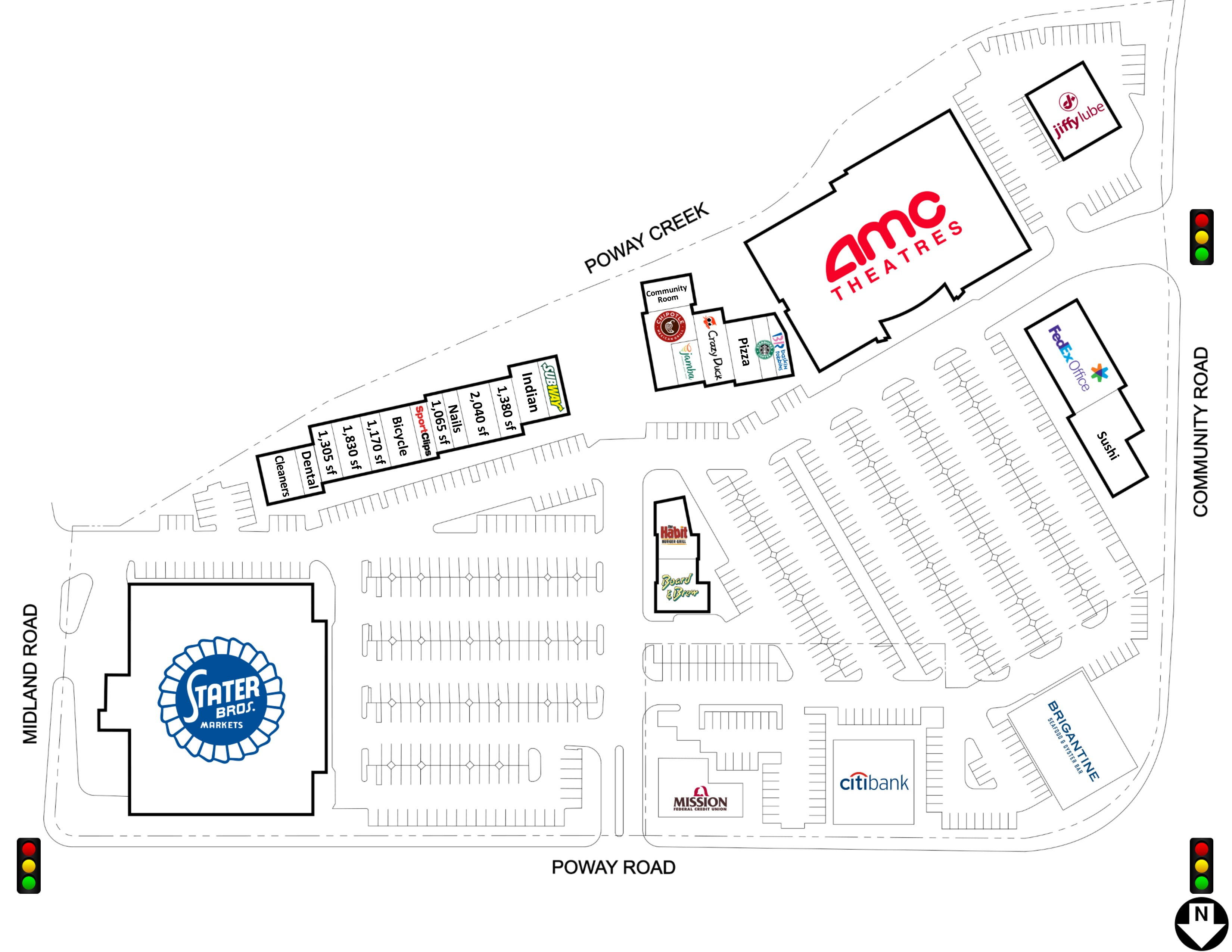 Creekside Plaza | Shopping Centers | Property Details | Retail ...